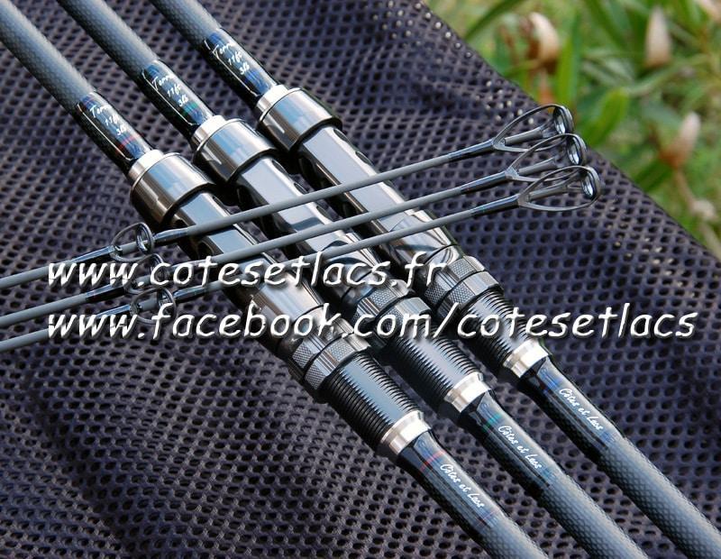 canne carpe Torrix 11pieds 3lb – Fuji new guide Concept – Côtes et Lacs