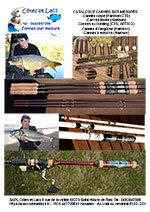 Personnaliser ma canne à pêche Côtes et Lacs